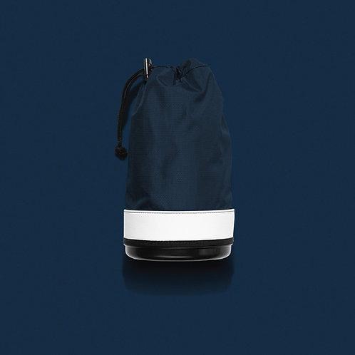 JONES RANGER SHAG BAG AND COOLER - NVY/WHT