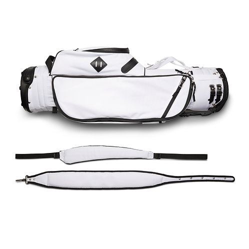 JONES VARSITY STAND BAG - WHITE