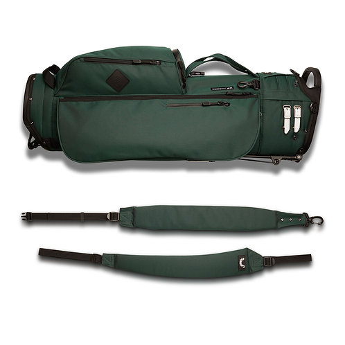JONES UTILITY TROUPER STAND BAG - FOREST GREEN