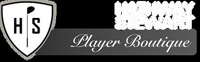 HS Player Boutique - Logo - White Grey -