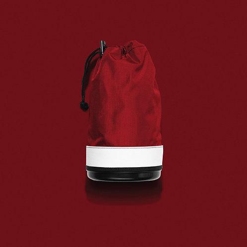 JONES RANGER SHAG BAG AND COOLER - RED/WHT