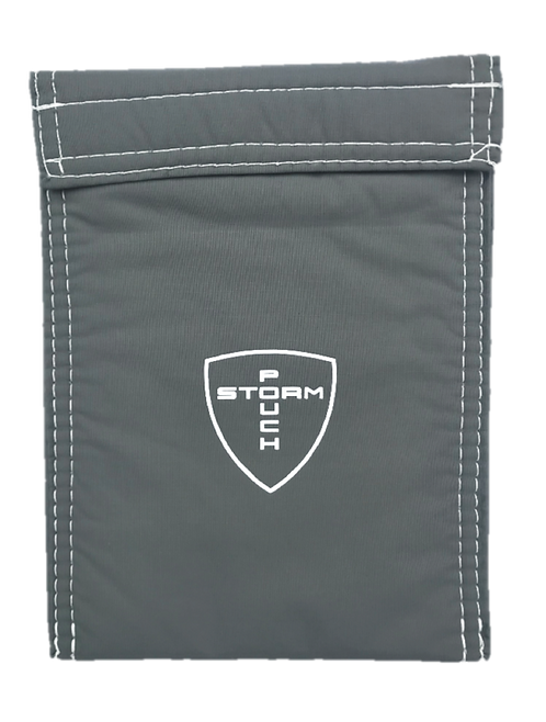 STORM POUCH - GRY/WHT