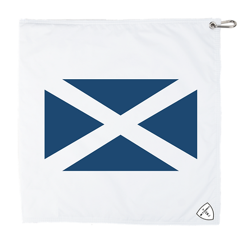 STORM TOWEL - WHT/WHT - SCOTLAND