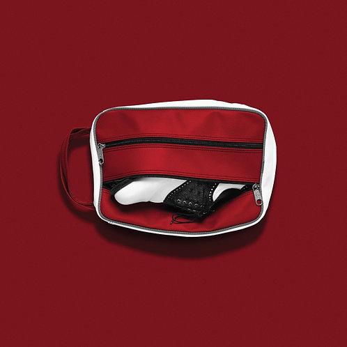 JONES CLASSIC SHOE BAG - RED/WHT