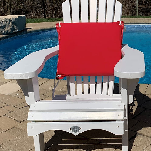 STORM COMFY All-Weather Outdoor Cushion - RED/WHT