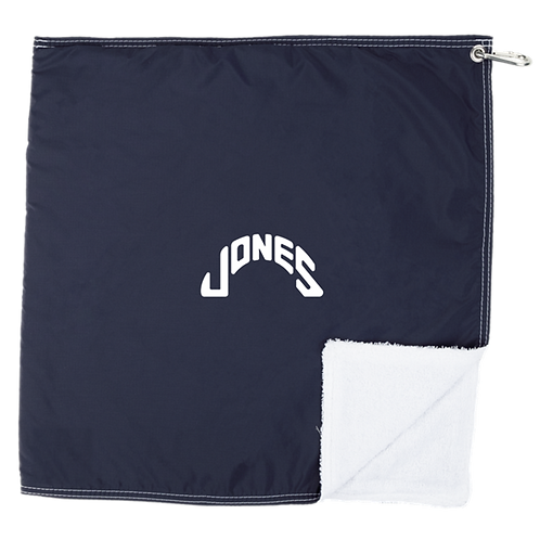 STORM TOWEL X JONES - NVY/WHT