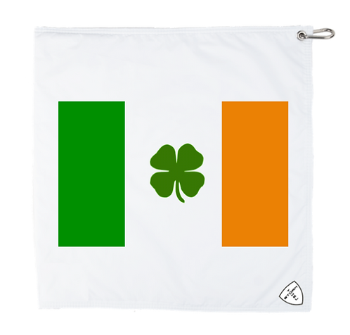 STORM TOWEL - WHT/WHT - IRELAND