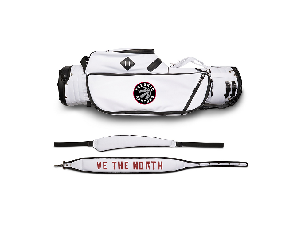 Varsity Team Bag - WHT - Raptors Limited