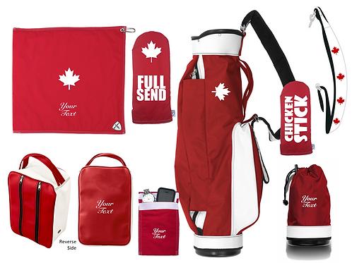 JONES ORIGINAL CANADA PACKAGE - FULL SEND - RED/WHT