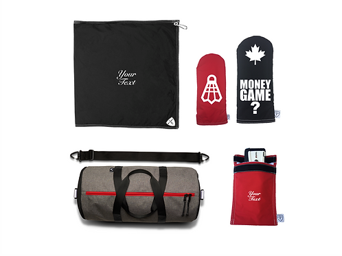 VARSITY GAME PACKAGE - CHR/BLK/WHT/RED