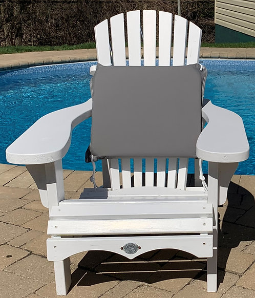 STORM COMFY All-Weather Outdoor Cushion - GRY/WHT