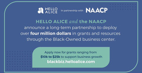 NAACP x Hello Alice: An opportunity for Black-Owned Businesses
