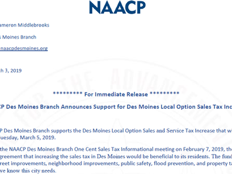Local Option Sales & Service Tax Increase