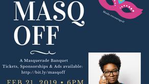 MASQ OFF - 14th Annual Youth Council Banquet 2/21