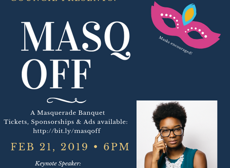 MASQ OFF - 14th Annual Youth Council Banquet 2/21