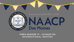 1% Sales Tax Informational Meeting - Postponed to Feb 7th