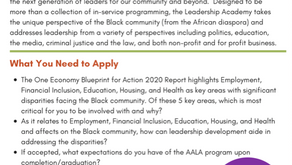 Af-Am Leadership Academy Applications open Thru February 15