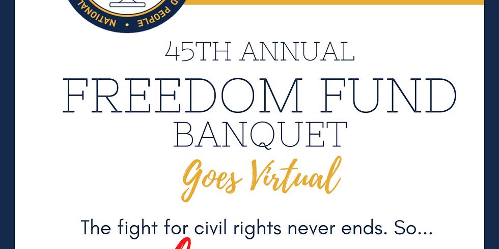 45th Annual Freedom Fund: Virtual Event