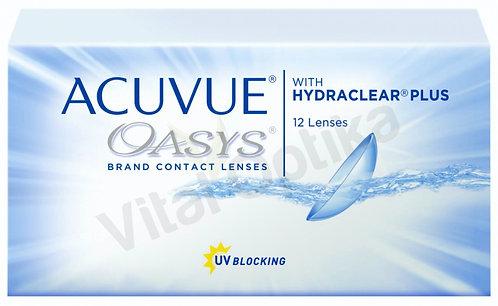 Acuvue Oasys with Hydraclear Plus kontaktlencse (12 db) (-6,50 D-tól -12,0 D-ig)