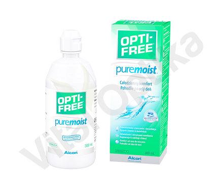 Opti-Free PureMoist (300 ml) kontaktlencse folyadék tokkal