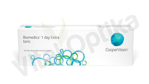 Biomedics 1 day Extra toric kontaktlencse (30 db) (0,00 D-tól -7,00 D-ig)
