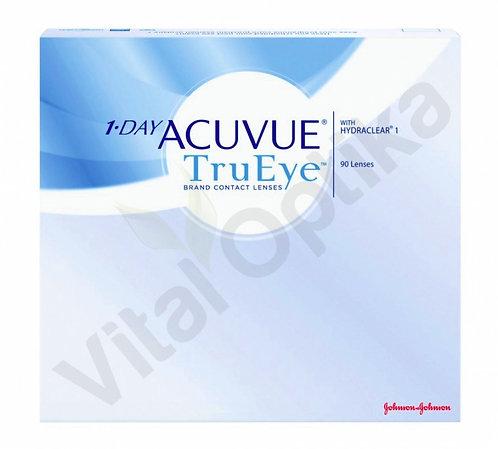 1-DAY Acuvue TrueEye kontaktlencse (90 db) (-6,50 D-tól -12,00 D-ig)