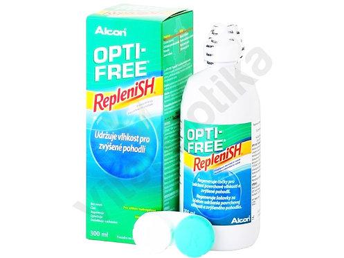Opti-Free Replenish (300 ml) kontaktlencse folyadék tokkal
