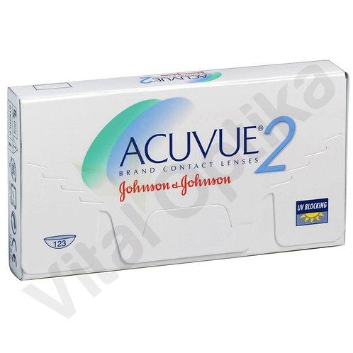 Acuvue 2 kontaktlencse (6 db) (-6,50 D-tól -12,00 D-ig)