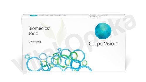 Biomedics toric kontaktlencse (3 db) (+0,25 D-tól +6,00 D-ig)