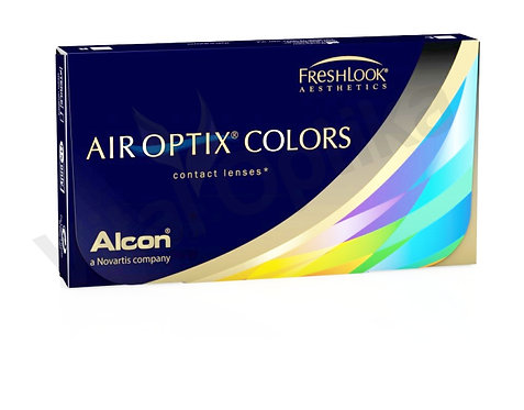 Air Optix Colors kontaktlencse (+0,25 D-tól +6,00 D-ig)