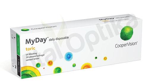 MyDay Toric kontaktlencse (30db) (0,00 D-tól -6,00 D-ig)