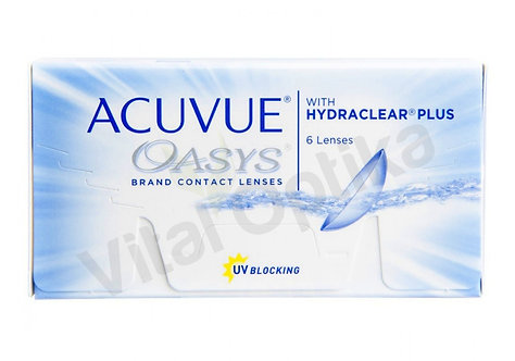 Acuvue Oasys with Hydraclear Plus kontaktlencse (6 db) (-0,50 D-tól -6,00 D-ig)