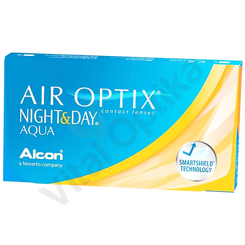 Air Optix Night&Day Aqua (6 db) (-0,25 D-tól -6,00 D-ig)