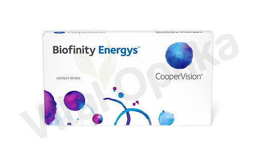 Biofinity Energys kontaktlencse (3 db) (-6,50 D-tól -12,00 D-ig)