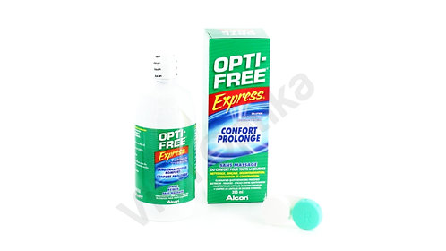 Opti-Free Express (355 ml) kontaktlencse folyadék tokkal