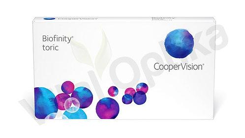 Biofinity toric kontaktlencse (3 db) (-6,50 D-tól -10,00 D-ig)