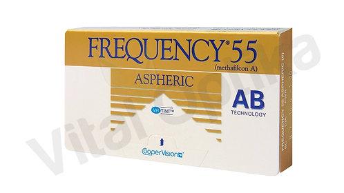 Frequency 55 Aspheric kontaktlencse (3 db) (-0,25 D-tól -6,00 D-ig)