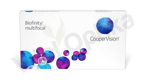Biofinity multifocal kontaktlencse (3 db) (+0,25 D-tól +6,00 D-ig)
