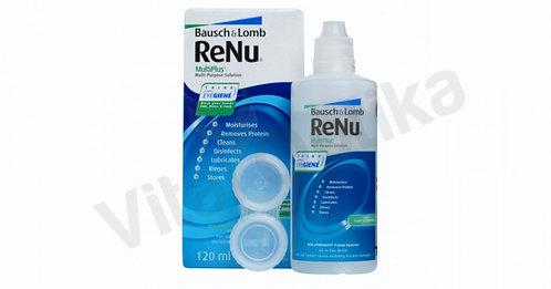 Renu Multiplus (120 ml) kontaktlencse folyadék tokkal