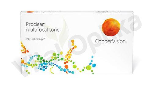 Proclear multifocal toric kontaktlencse (3 db) (0,00 D-tól -8,50 D-ig)