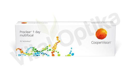 Proclear 1 day multifocal kontaktlencse (30 db) (0,00 D-tól -6,00 D-ig)
