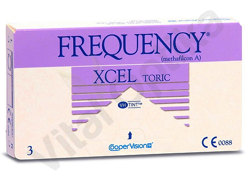 Frequency XCEL toric XR kontaktlencse (3 db) (+0,25 D-tól +6,00 D-ig)