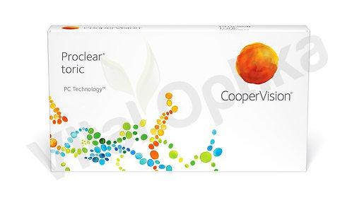 Proclear toric kontaktlencse (3 db) (-6,25 D-tól -8,00 D-ig)