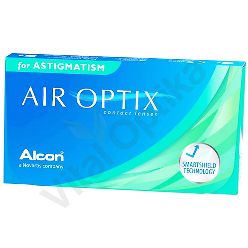 Air Optix for Astigmatism kontaktlencse (6 db) (+0,25 D-tól +6,00 D-ig)