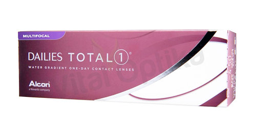 Dailies Total1 Multifocal kontaktlencse (30 db) (-6,25 D-tól -10,00 D-ig)