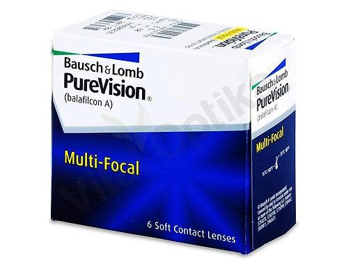 Pure Vision Multi-Focal kontaktlencse (6 db) (-0,25 D-tól -6,00 D-ig)