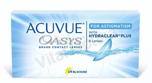 Acuvue Oasys with Astigmatism kontaktlencse (6 db) (+0,25 D-tól +6,00 D-ig)