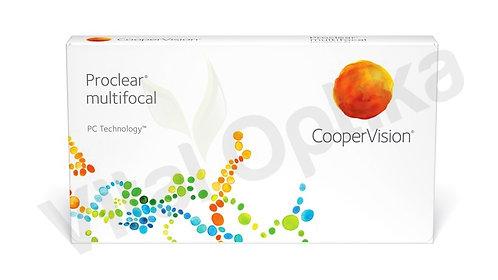 Proclear multifocal kontaktlencse (3 db) (0,00 D-tól -8,00 D-ig)