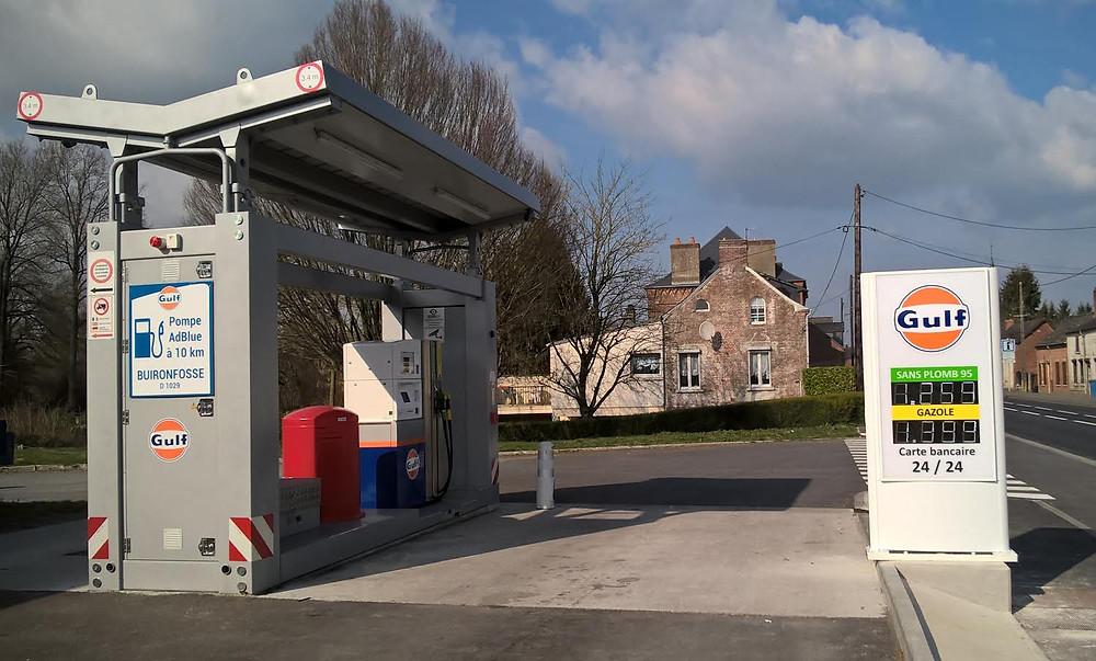 Station de Carburant Gulf - Etréaupont