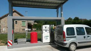 Une station-service innovante à Mérinchal dans la Creuse (France bleu)